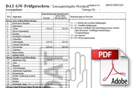 Fahrzeugbewertung - LKW